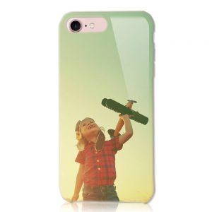 iPhone6/6S<br/>白ケース(表面のみ印刷)