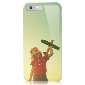 iPhone6Plus/6SPlus<br/>白ケース(表面のみ印刷)