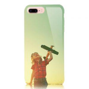 iPhone7Plus<br/>白ケース(表面のみ印刷)