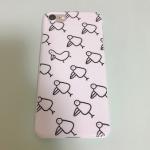 iPhone8Plus<br/>白ケース(表面のみ印刷)
