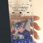 iPhone7<br/>グリッターケース