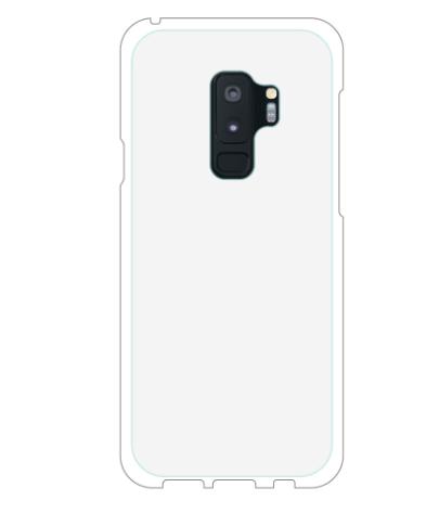 オリジナルGalaxy S9+ (SC-03K/SCV39)表面のみ印刷白