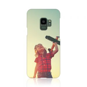 Galaxy S9 (SC-02K/SCV38)<br/>(表面のみ印刷)白
