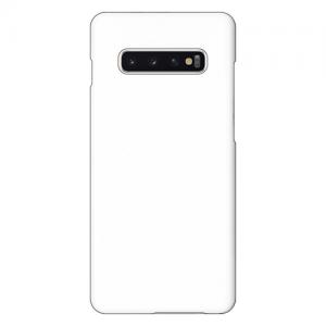 Galaxy S10+ (SC-04L/SCV42)<br/>(表面のみ印刷)白