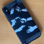 iPhoneX/Xs<br/>クリアケース(表面のみ印刷)