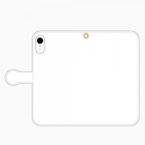 iPhoneXR<br/>手帳型スマホケース