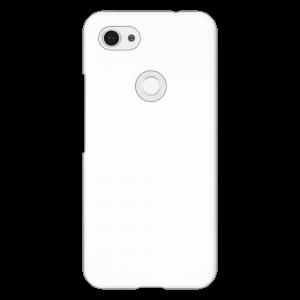 Google Pixel 3a XL</br>  (表面のみ印刷) (白)