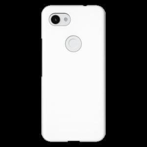 Google Pixel 3a</br>  (表面のみ印刷) (白)