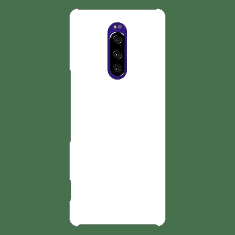 オリジナルXperia 1 (SO-03L/SOV40/802SO)(表面のみ印刷)白