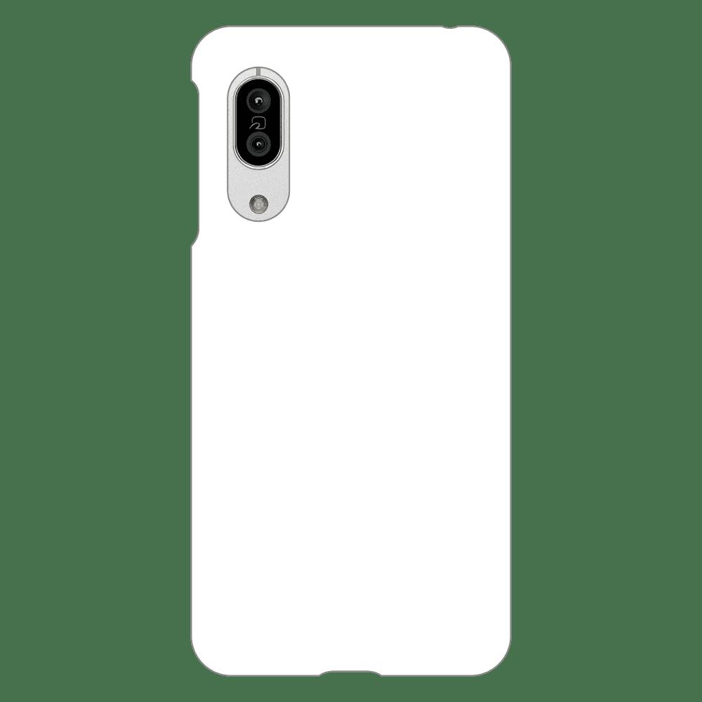 オリジナルAQUOS sense3 /sense3 lite SH-RM12/sense3 basic/Android One S7(表面のみ印刷)白