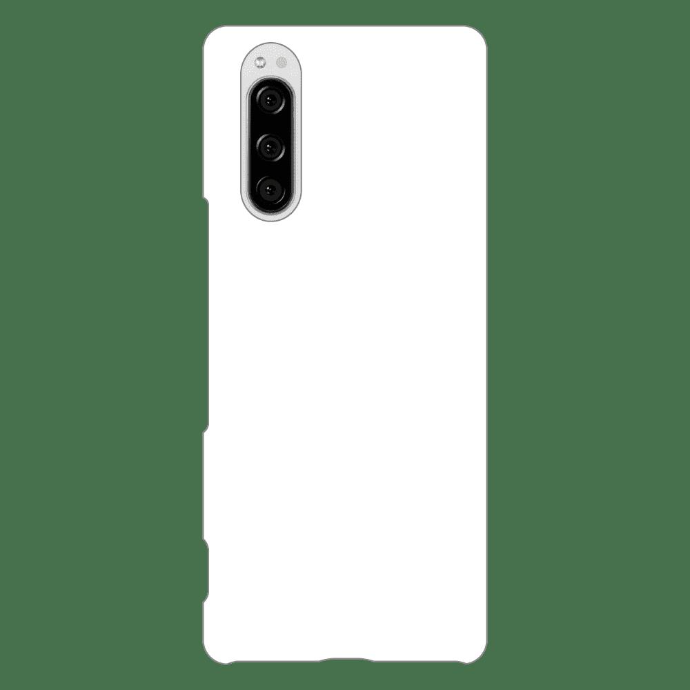 オリジナルXperia 5 (SO-01M/SOV41/901SO)(表面のみ印刷)白