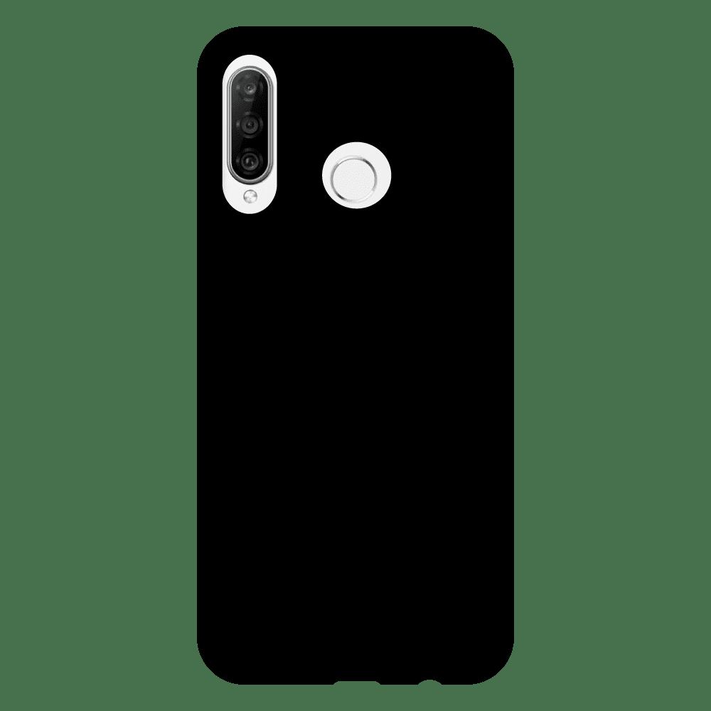 オリジナルHUAWEI P30 lite/P30 lite Premium(HWV33)(表面のみ印刷)黒