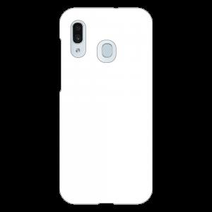 Galaxy A30 (SCV43)<br>(表面のみ印刷)白