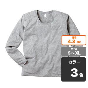スリムフィット UネックロングスリーブTシャツ