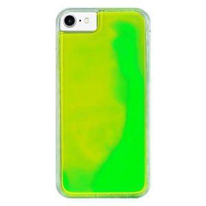 iPhone7<br/>ネオンサンドケース