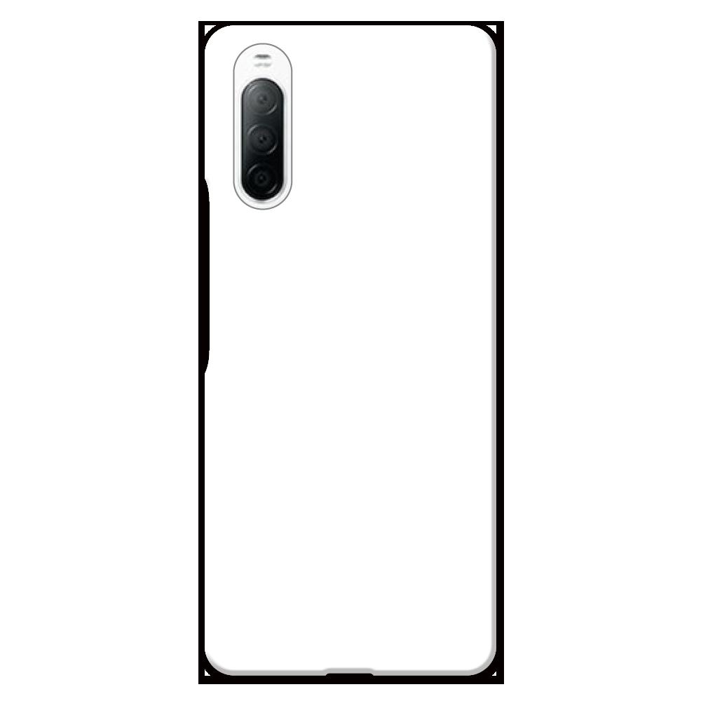 オリジナルXperia 10 II (SO-41A/SOV43/Y!mobile)(表面のみ印刷)白