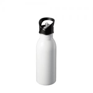 ストロー付ステンレススポーツボトル (550ml)
