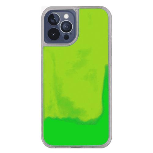 オリジナルiPhone12ProMaxネオンサンドケース