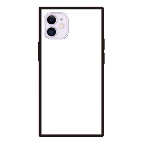 オリジナルiPhone12miniスクエア型強化ガラスケース
