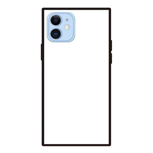 オリジナルiPhone12/12proスクエア型強化ガラスケース