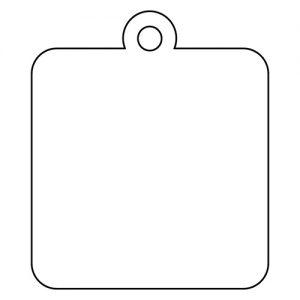 四角型アクリルキーホルダー(4cm)