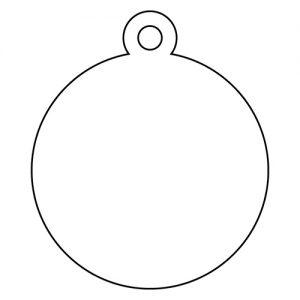丸型アクリルキーホルダー(4cm)