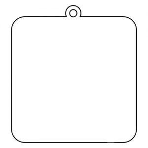 四角型 アクリルキーホルダー(10cm)