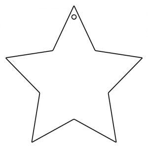 星形アクリルキーホルダー(10cm)