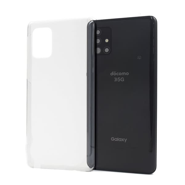 オリジナルGalaxy A51 5G クリアケース(表面のみ印刷)